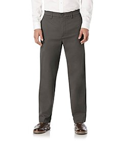 Savane® Men's Straight Fit Flat Front Flex Casual Pants