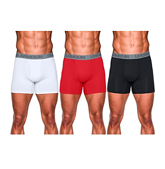 Under Armour® Men's Charged Cotton® 3-Pack Boxerjock