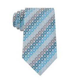 Geoffrey Beene Men's Round The Clock Dot Print Tie