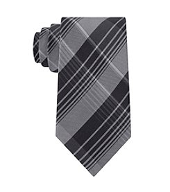 Calvin Klein Men's Schoolboy Chalk Plaid Tie