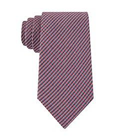 Calvin Klein Men's Schoolboy Chalk Gingham Tie