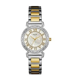 GUESS Women's Two Tone South Hampton Watch