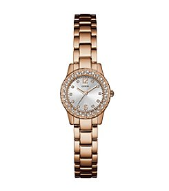 GUESS Women's Rose Goldtone Dixie Watch
