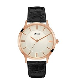 GUESS Men's Goldtone Escrow Watch
