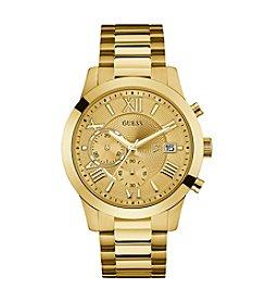 Guess Men's Goldtone Atlas Chronograph Watch