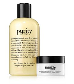 philosophy® Purity + Anti-Wrinkle Miracle Worker Duo Gift Set