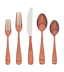 Cambridge Silversmiths Cecila 20-Piece Copper Flatware Set