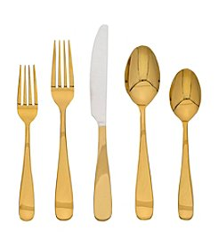 Cambridge® Silversmiths Ceclia 20-pc. Gold Flatware
