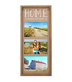 Malden Three Opening 4x6 Home Heart Collage Frame