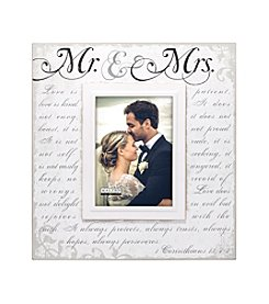 Malden Mr. and  Mrs. Corinthians Frame