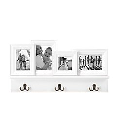 Malden Four Opening Shelf And Hook Collage Frame