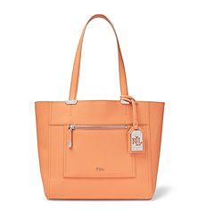 Lauren Ralph Lauren Lorraine Shopper Handbag (Multiple Colors)