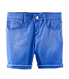 Jessica Simpson Girls' 7-16 Cherish Twill Bermuda Shorts