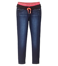 Squeeze® Girls' 2T-14 Knit Waistband Skinny Jeans