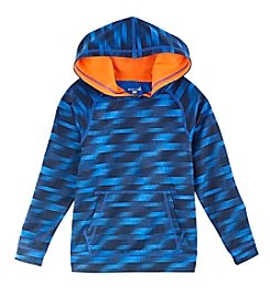 Exertek® Boys' 4-7 Long Sleeve Blur Printed Fleece Hoodie
