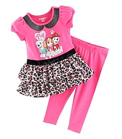 Nannette® Baby Girls' 2-Piece Paw Patrol Pup Power! Dress And Leggings Set