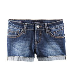Vigoss® Girls' 7-16 Butterfly Embellished Shorts