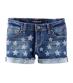 Vigoss® Girls' 7-16 Star Studded Shorts