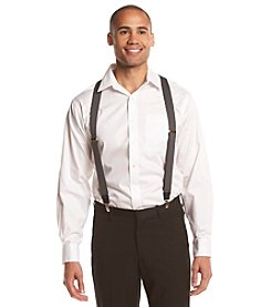 John Bartlett Statements Men's Solid Suspenders