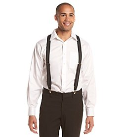 John Bartlett Statements Men's Stripe Suspenders