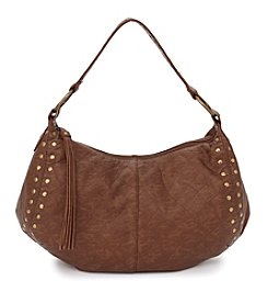 GAL Studded Elephant Washed Hobo