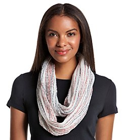 Cejon® Lurex Infused Space Dyed Yarn Infinity Scarf