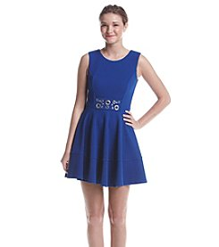 XOXO® Grommet Fit And Flare Dress