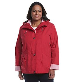 Mackintosh Plus Size Snap Front Blouson Jacket
