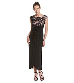 Connected® Petites' Soutache Bodice Dress