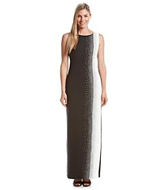 Calvin Klein Color Block Sequin Dress