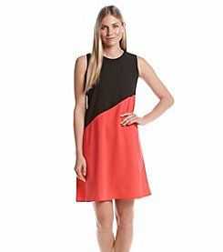 Calvin Klein Color Block Shift Dress
