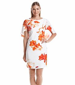 Calvin Klein Floral Shift Dress