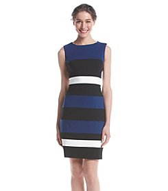 Tommy Hilfiger® Striped Ponte Sheath Dress