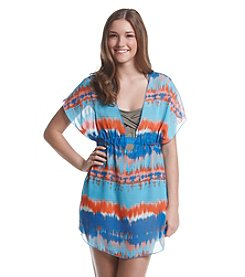 Miken® Printed Chiffon Dolman Cover-Up