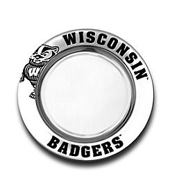 Wilton Armetale® University of Wisconsin Small Round Tray