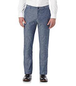 Perry Ellis® Men's Slim Slub Chino Pants