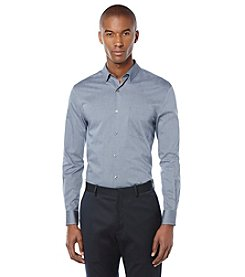 Perry Ellis® Men's Striped Long Sleeve Button Down Shirt