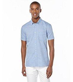 Perry Ellis® Men's Short Sleeve Button Down Shirt