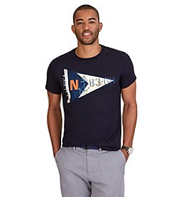 Nautica® Men's Flag Crew Neck Graphic Tee
