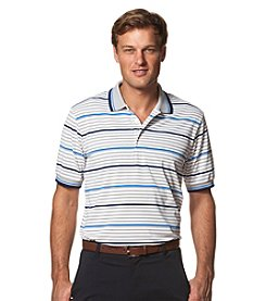 Chaps® Men's Auto Stripe Short Sleeve Golf Polo