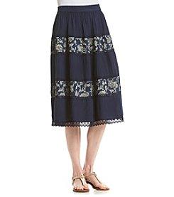 Studio West Lace Tie Dye Skirt