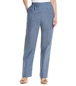 Alfred Dunner® St. Augustine Short Pull On Pants