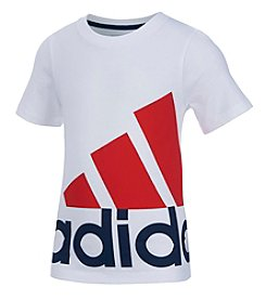 adidas® Boys' 2T-7 Short Sleeve USA Pride Tee