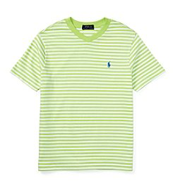 Ralph Lauren Childrenswear Boys' 8-20 Short Sleeve Striped Tee