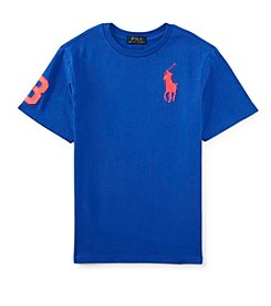 Ralph Lauren Childrenswear Boys' 8-20 Short Sleeve Big Pony Tee