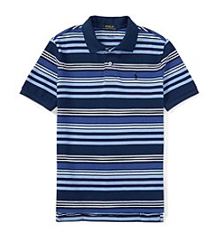 Polo Ralph Lauren® Boys' 8-20 Short Sleeve Striped Mesh Polo