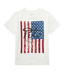 Polo Ralph Lauren® Boys' 8-20 Short Sleeve Logo Flag Tee