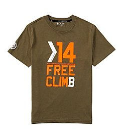 Ralph Lauren Childrenswear Boys' 8-20 Short Sleeve Free Climb Tee
