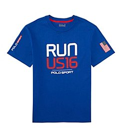 Polo Sport® Boys' 8-20 Short Sleeve Run US16 Tee