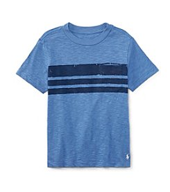 Polo Ralph Lauren® Boys' 2T-7 Short Sleeve Striped Tee